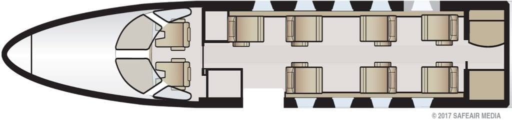 Light Jets Floorplan